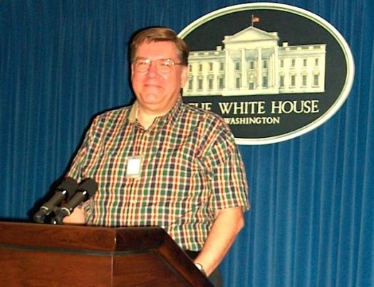 Scott Loftesness at the White House